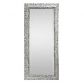 Wood Look Mirror