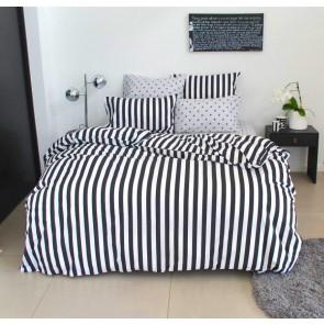 Black White Duvet Cover Set