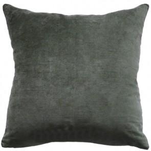 Mulberi Majestic Velvet/Linen Cushion - Caper