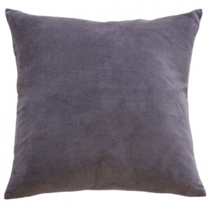 Mulberi Majestic Velvet/Linen Cushion - Grape