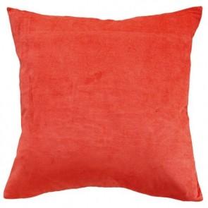 Mulberi Majestic Velvet/Linen Paprika Cushion