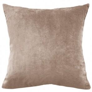 Mulberi Majestic Velvet/Linen Cushion - Nougat