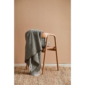 100% Wool Martinborough Throw by Mulberi - Olive