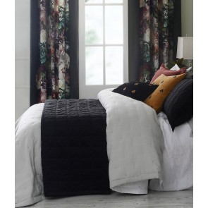 Meeka Quilted Comforter Set by MM Linen - Ebony