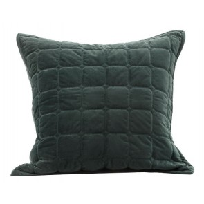 Meeka Quilted Euro Case Pair Sycamore