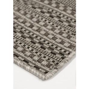 Mulberi Mendoza Pewter Floor Rug