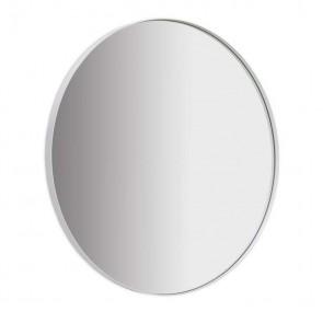Elle Round Mirror 100cm - White