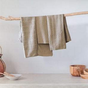 6 Pack Microfibre Tea Towels - Mocha