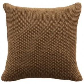 Mulberi Milford Moss Stitch Cushion - Saddle