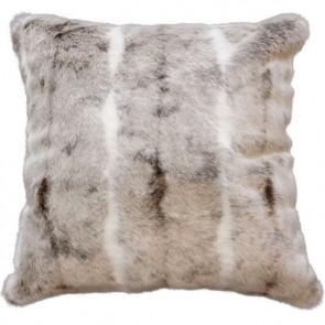 Heirloom Mountain Rabbit Square Cushion