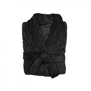 Microplush Robe by Bambury - Black