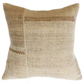Mulberi Navajo Straw Off White Cushion