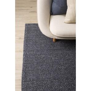 Mulberi Nebraska Ink Blue Floor Rug