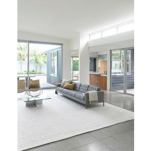 Mulberi Nebraska White Floor Rug