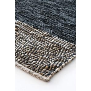 Mulberi Caracas Black/Saddle Floor Rug