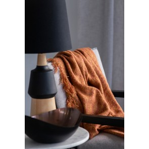 Limon Warner Rust Throw