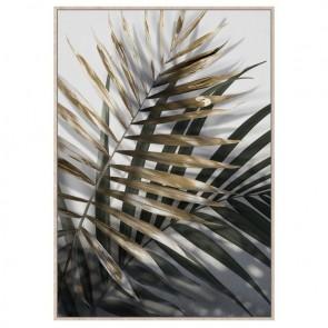 Neutral Ferns Canvas Art Print