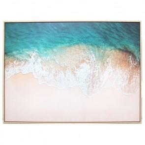 Smooth Tide Canvas Art Print