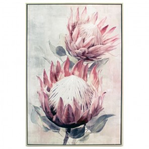 Double King Protea Painting
