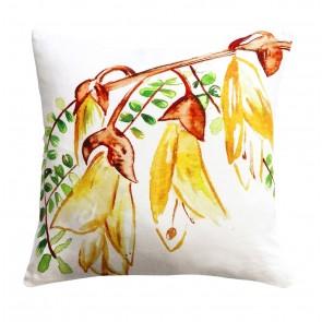 Limon NZ Watercolour Kowhai Cushion