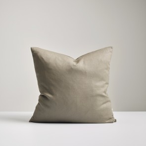 100% Linen Cushion Olive - NZ Made