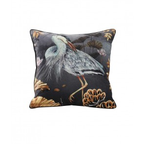 Avalana Orient Midnight Square Cushion by MM Linen