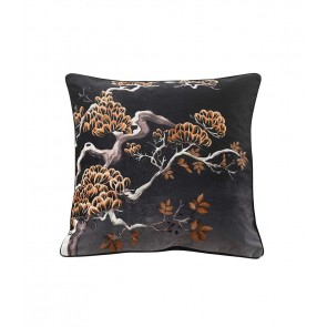 Avalana Orient Midnight Large Square Cushion by MM Linen