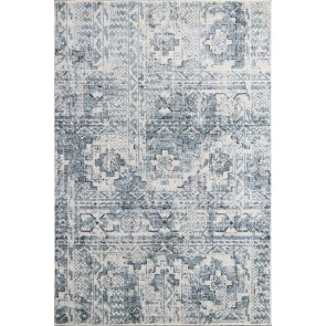 Limon Artisan Patras Floor Rug - Light Blue
