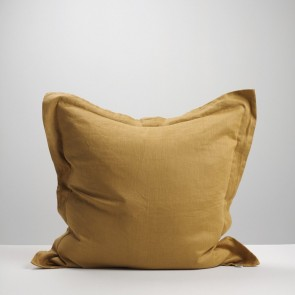 Cinnamon Linen Euro Pillowcase