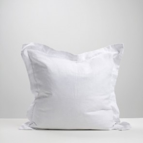 White Linen Euro Pillowcase