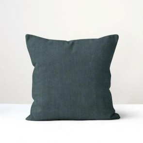 Peacock Italian Linen Cushion - Made in NZ