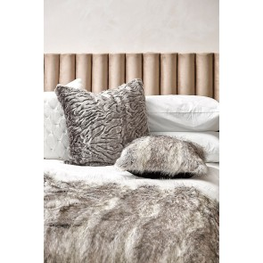 Heirloom Pewter Chinchilla Square Cushion - 65cm