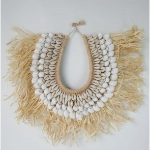 Papua Straw Necklace with Stand