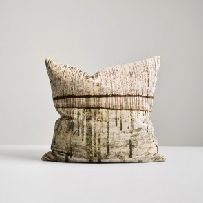 Bitumen Bark Velvet Cushion