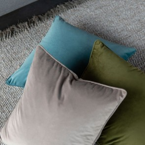 Mulberi Quattro Mineral Blue Cushion