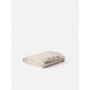 100% Linen Resort Throw/Bedspread - Oat
