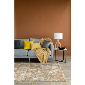 Limon Saxony Roche Autumn Gold Floor Rug