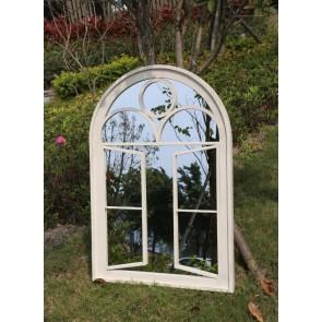 Round Arch Metal Mirror