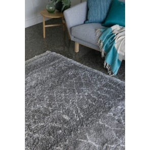 Limon Intrepid Sandstorm Grey Floor Rug