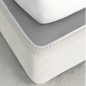 Suede Valance Bedwrap by Savona - Cream
