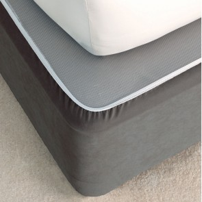 Suede Valance Bedwrap by Savona - Castlerock