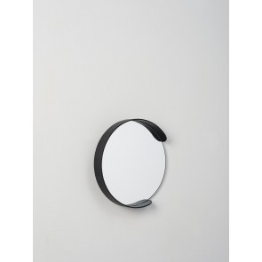 Segment Mirror Black - Small