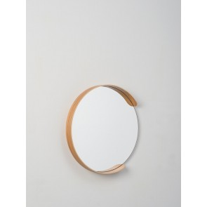 Segment Mirror Natural Oak - Large