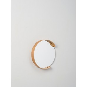 Segment Mirror - Natural Oak