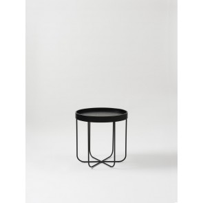 Segment Side Table - Black