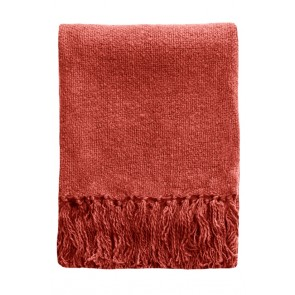 Serenade Throw by Mulberi - Cranberry