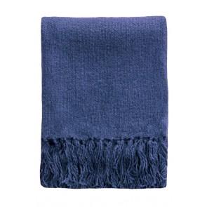 Serenade Throw by Mulberi - Ink Blue