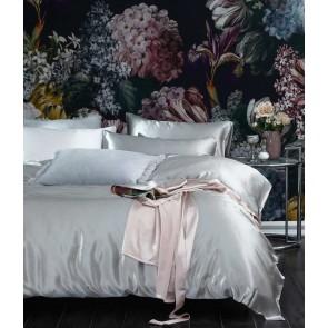 Silk Duvet Set by MM Linen - Pewter