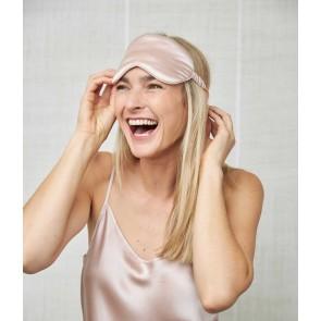 Silk Eye Mask by MM Linen - Blush