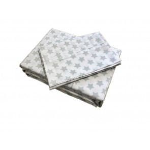 Silver Star Sheet Set